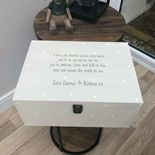 Personalised AUNTIE Aunt Aunt Box ANY NAME Special VERY LARGE Keepsake Box Gift - 233400731124